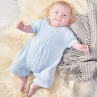 A1578W Baby knitted Romper